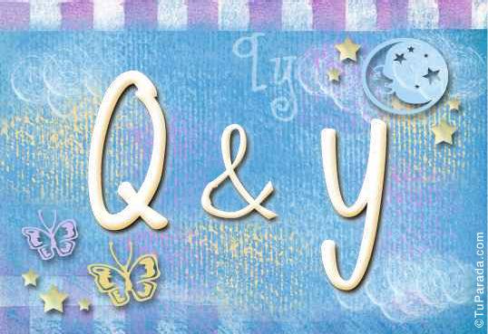 Q & Y