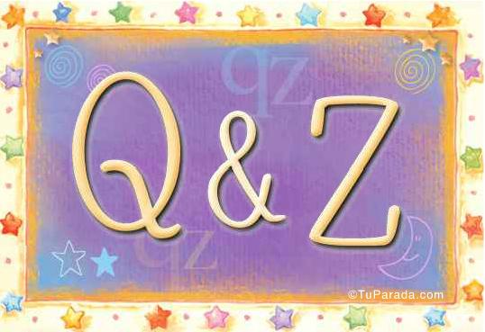 Q & Z