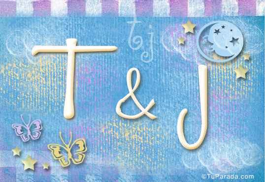 Tarjeta - T & J