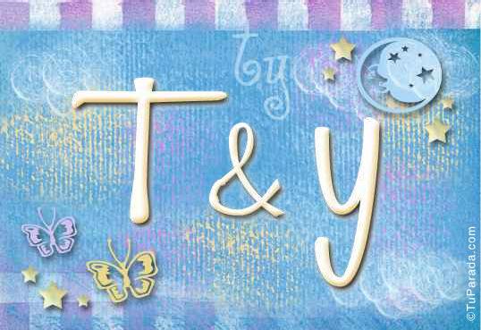 Tarjeta - T & Y