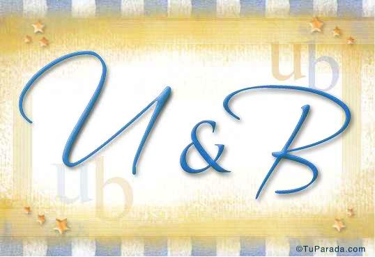 U & B