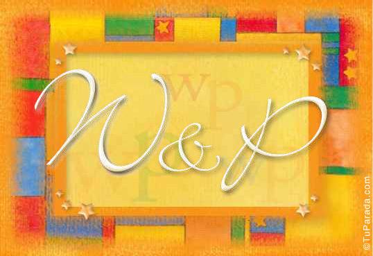 Tarjeta - W & P
