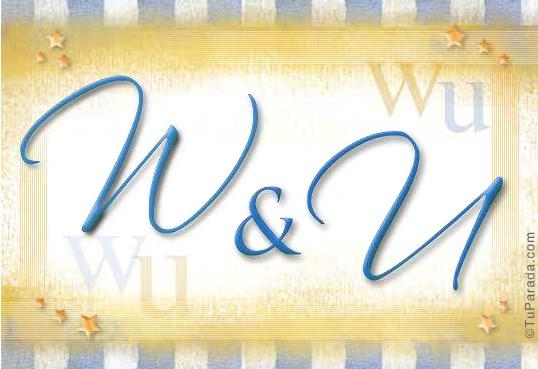 W & U