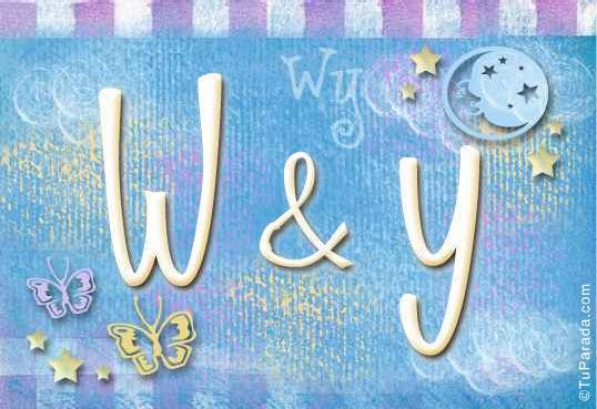 W & Y