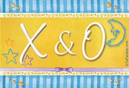 Tarjeta - X & O