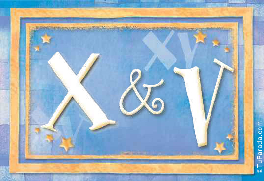 X & V