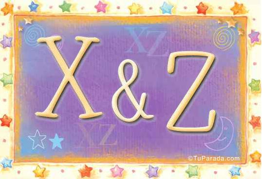 X & Z