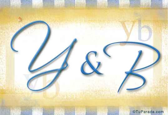 Tarjeta de Inicial Y