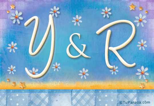 Tarjeta - Y & R