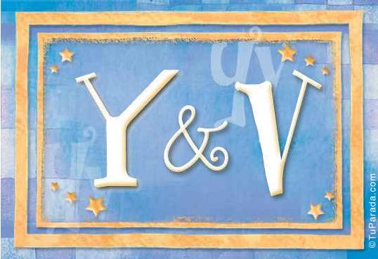 Tarjeta - Y & V