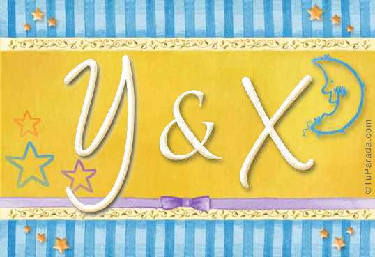 Tarjeta - Y & X