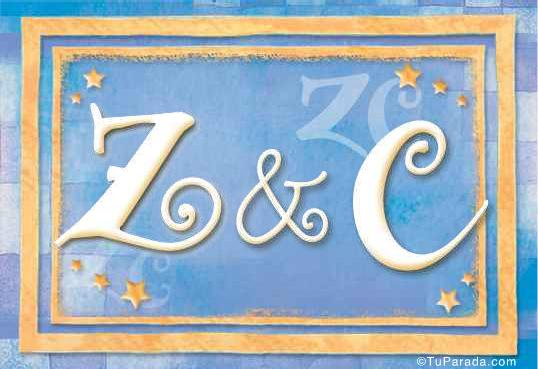 Tarjeta de Inicial Z