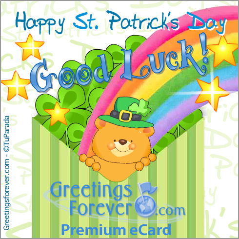 Ecard - Happy St. Patrick's Day