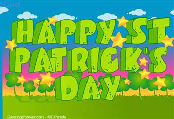 St. Patrick's Day ecard