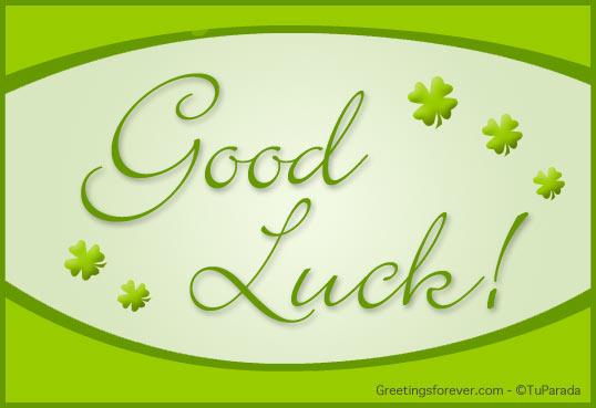 Ecard - Good luck!