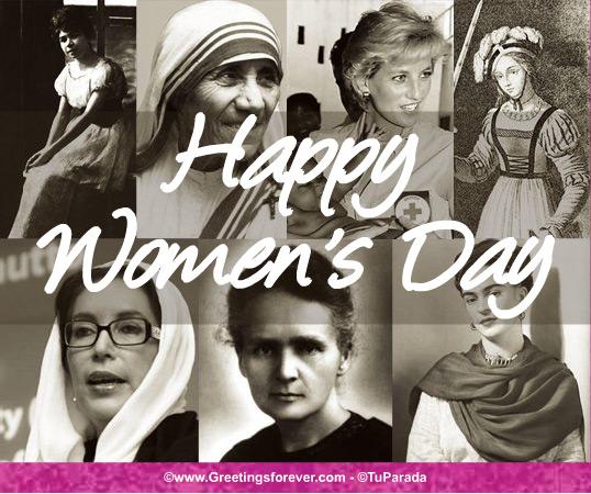 Ecard - Homage Women's Day
