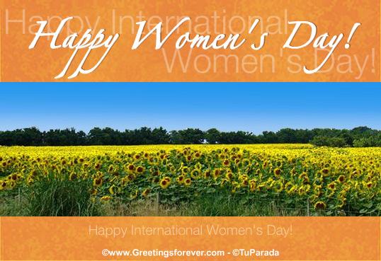 Ecard - Happy Women's Day