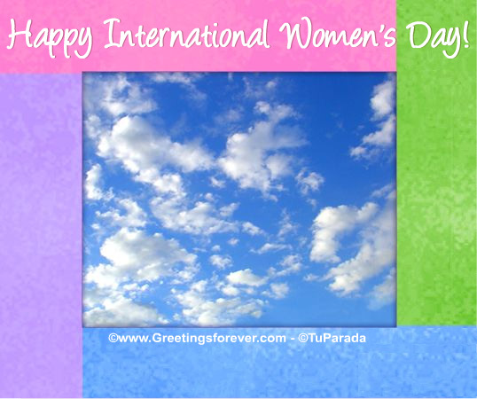 Ecard - International Women's Day