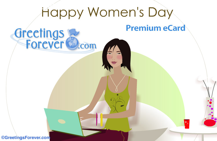 Ecard - Happy Women's Day