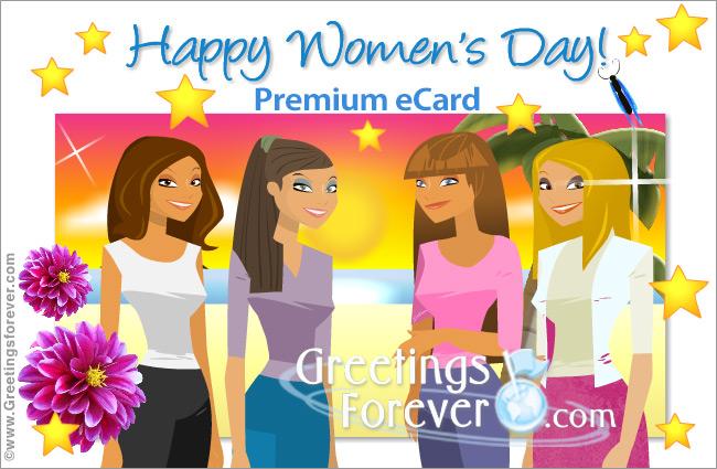 Ecard - Happy Women's Day ecard