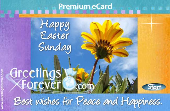 Ecard - Easter greeting card
