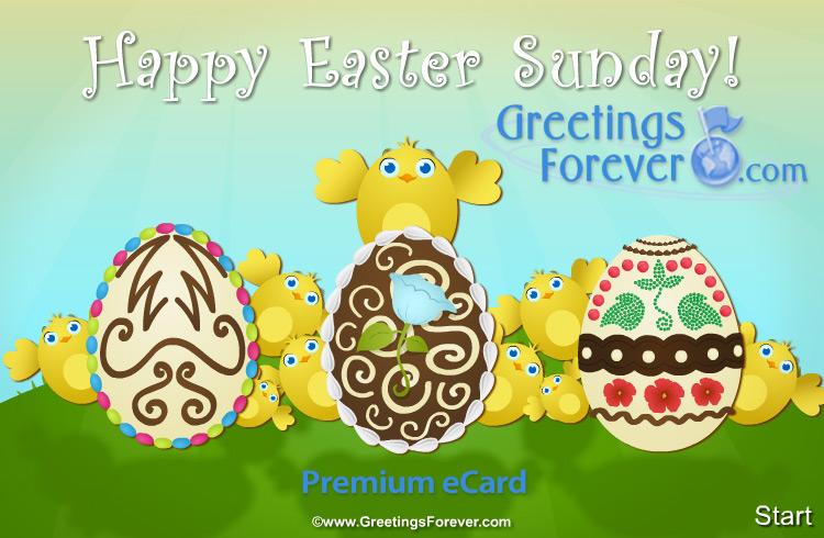 Ecard - Easter greetings