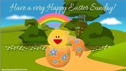 Easter Egg ecard