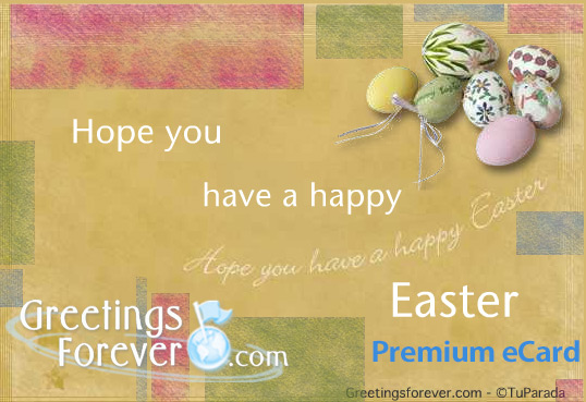 Ecard - Have a happy easter!