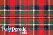 Red Scottish pattern