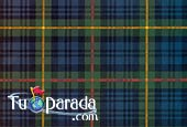Green Scottish pattern
