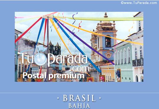 Tarjeta - Brasil, Bahía