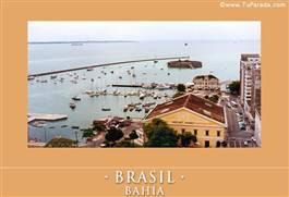 Postal de Bahía - Brasil