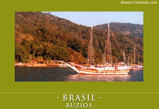 Tarjeta - Postal de Búzios - Brasil
