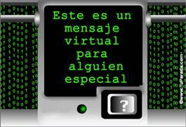 Mensaje virtual