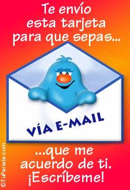 Tarjeta - Te envío esta tarjeta...