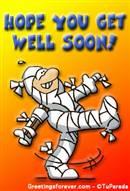 Hope you get well soon ecard