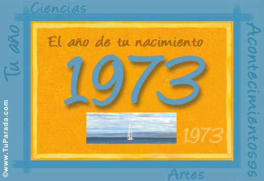 Tarjeta de 1973