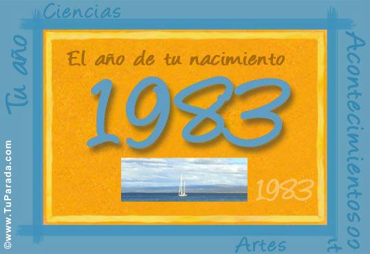 Tarjeta de 1983