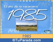 Tarjeta de 1985