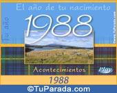 Tarjeta de 1988