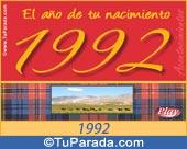 Tarjeta de 1992