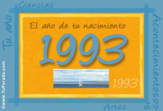 Tarjeta de 1993