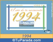 Tarjeta de 1994