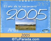 Tarjeta de 2005