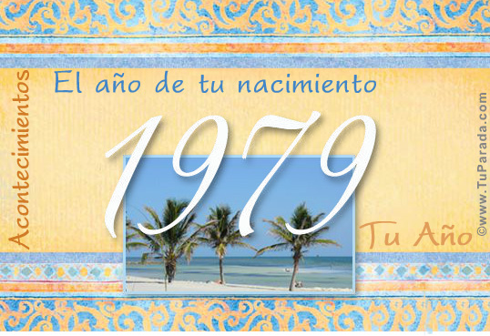 Tarjeta de 1979