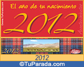 Tarjeta de 2012