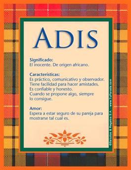 Nombre Adis