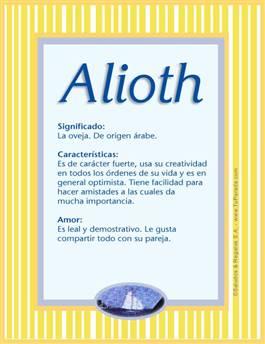 Nombre Alioth