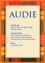 Nombre Audie
