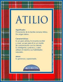 Nombre Atilio